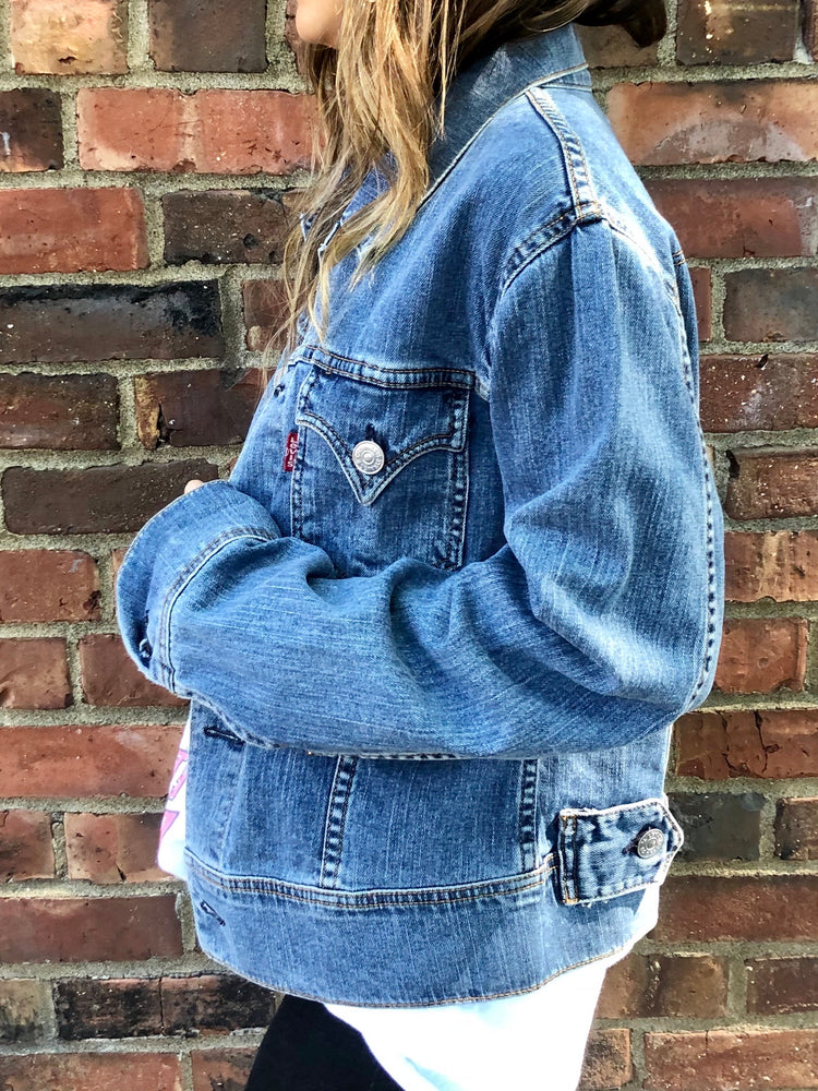 Load image into Gallery viewer, Vintage Levi Denim Jacket W Sz S