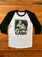 Johnny Cash Raglan Shirt