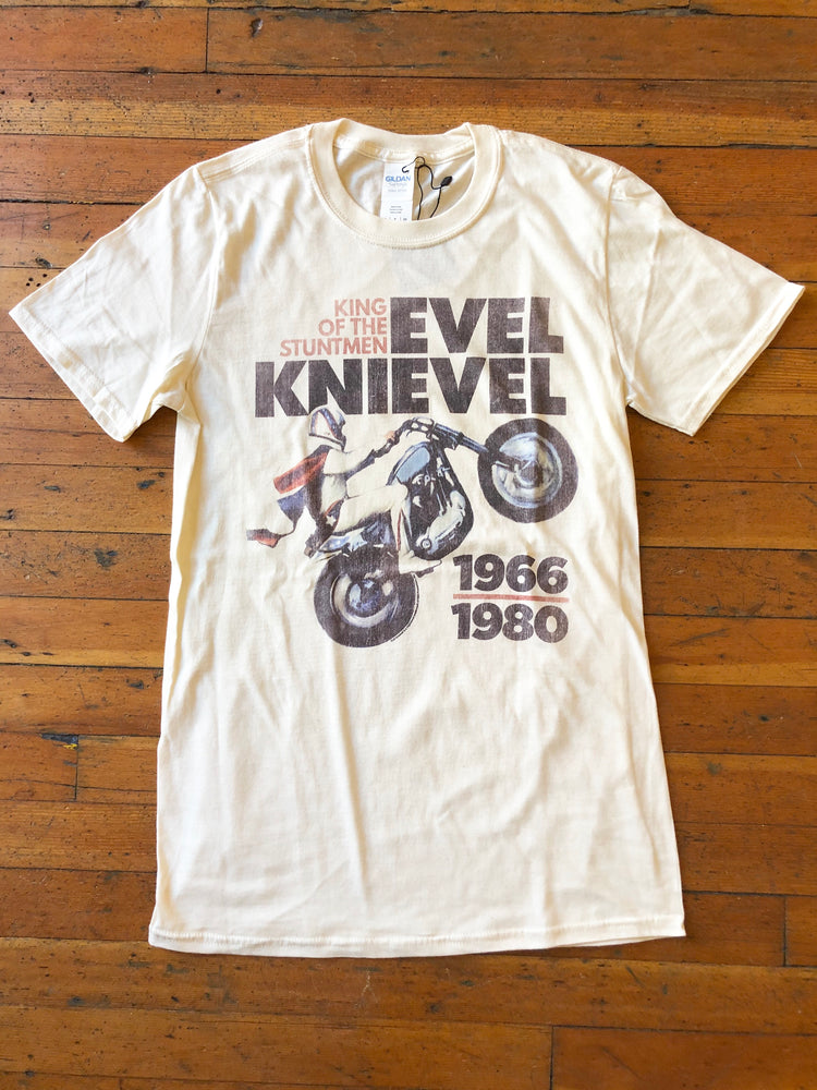 Evel Knievel King of the Stuntmen Tee