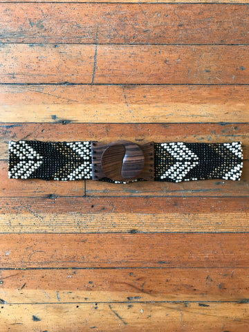 Beaded Elastic Belt