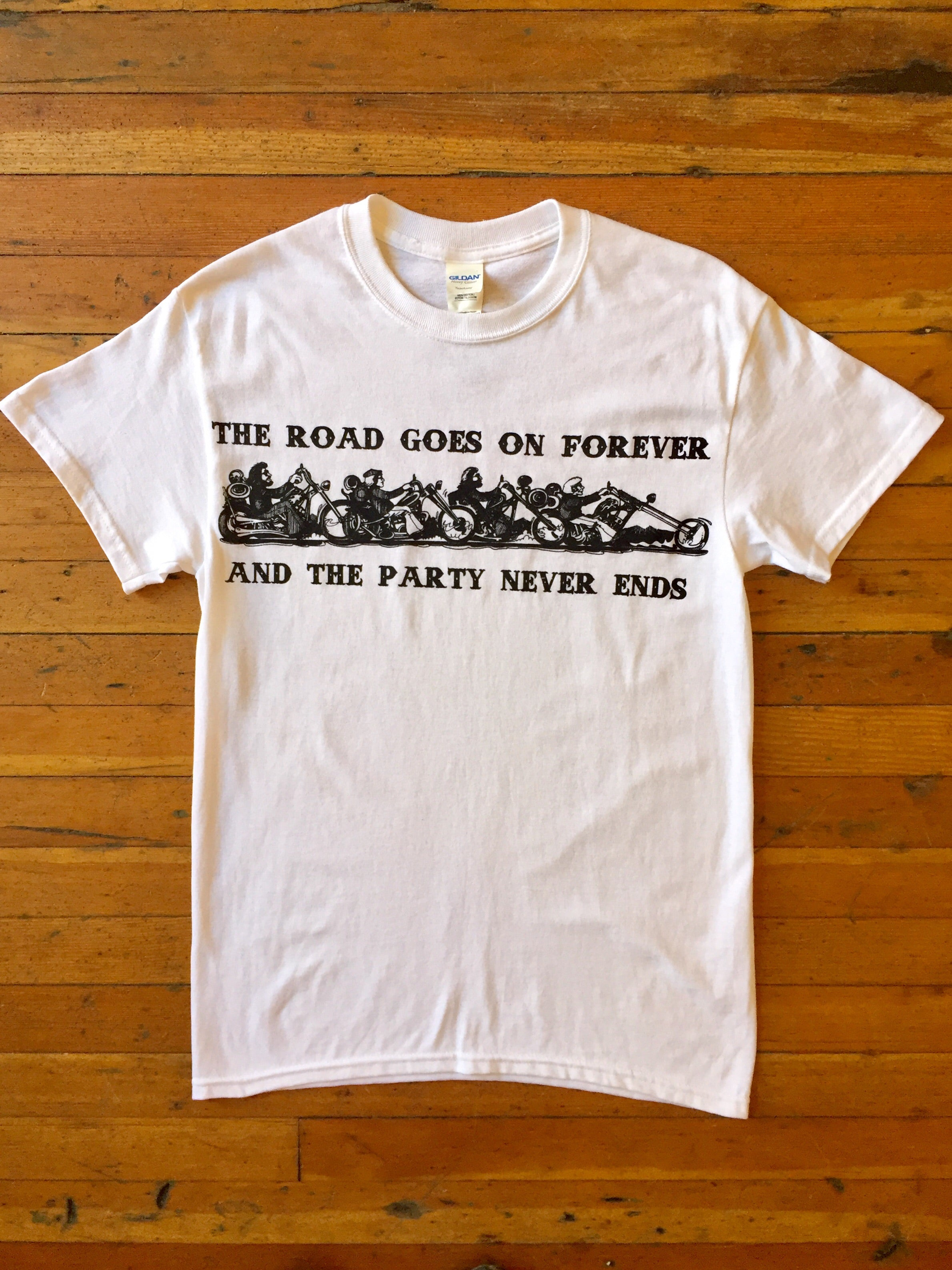 Party Never Ends Tee