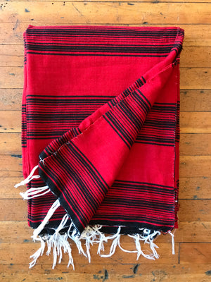 Load image into Gallery viewer, Red Serape Blanket