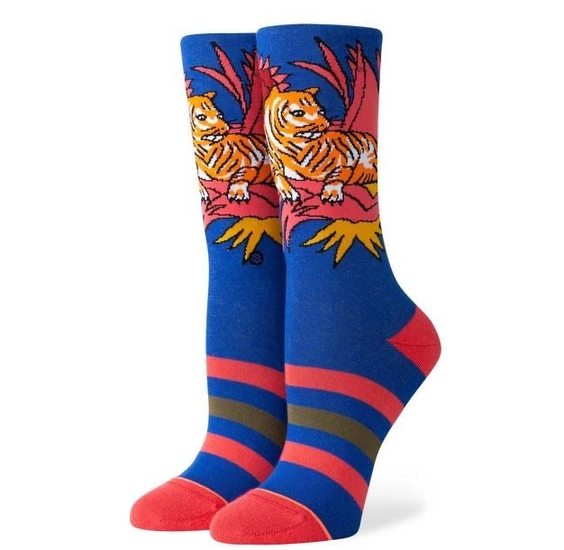 Load image into Gallery viewer, Tiger Belly Crew Socks