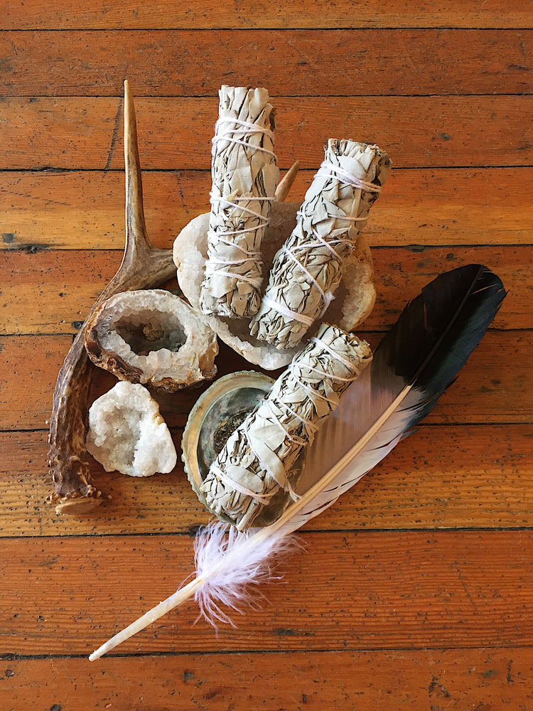 Load image into Gallery viewer, Small White Sage Smudge Stick