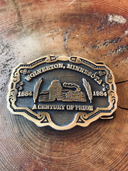 Wolverton, Minnesota Belt Buckle