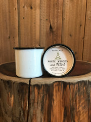 Alpine - White Woods & Mint Candle