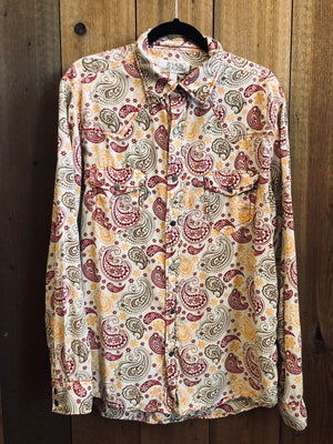 Load image into Gallery viewer, Men's Ryan Michael Snap Up Sz L