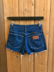 Vintage Denim Shorts Waist Sz 26""
