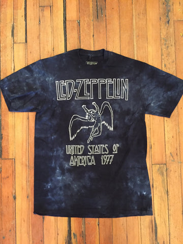 Led Zeppelin Tie Dye Fallen Angel Tee