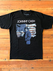 Johnny Cash Ragged Old Flag Tee