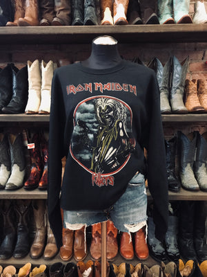Load image into Gallery viewer, Chopped Iron Maiden Sweatshirt