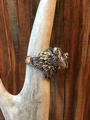 Grizzly Bear Biker Ring