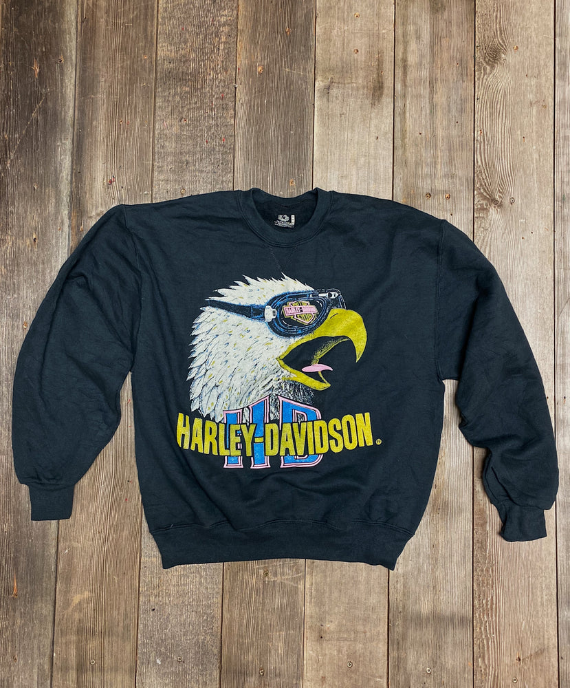 Vintage Harley Eagle Cycles Sweatshirt