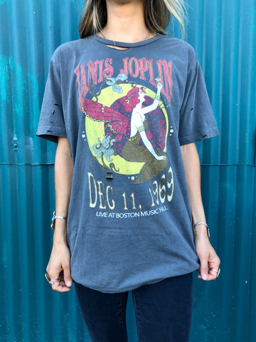 Janis Joplin Nouveau Boston Music Hall Tee