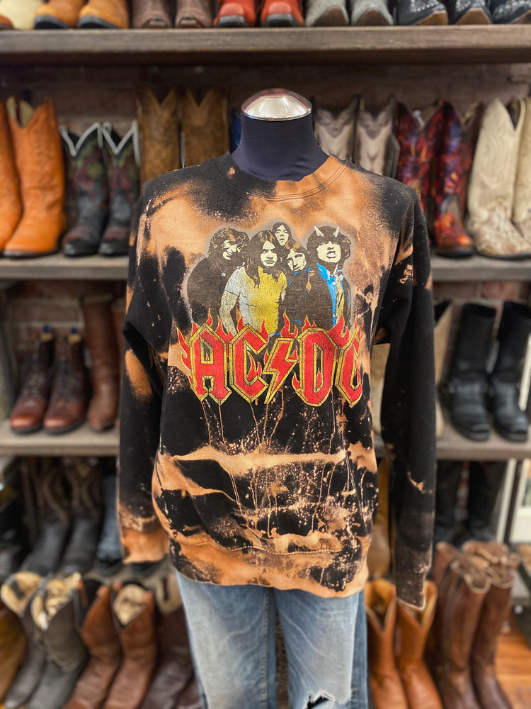 Load image into Gallery viewer, Chop Shop AC/DC Sweatshirt Sz M