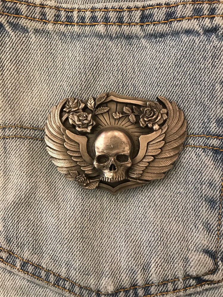 Load image into Gallery viewer, Born To Raise Hell Belt Buckle