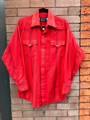 Men's Panhandle Slim Snap Up Sz M