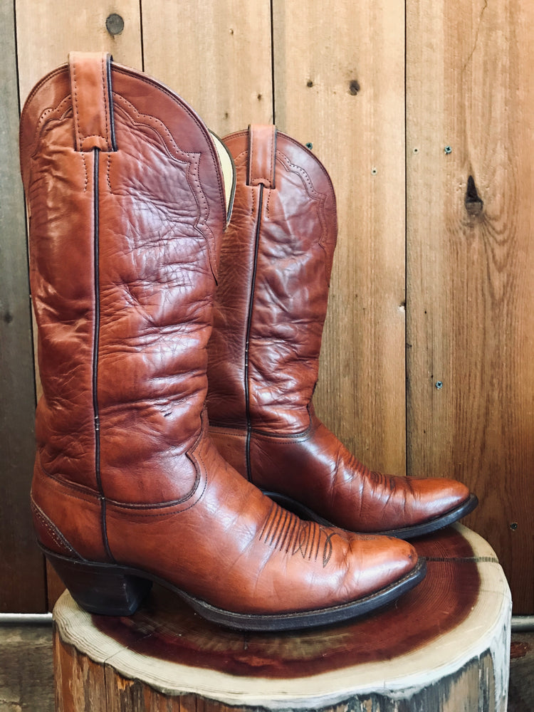 Load image into Gallery viewer, Justin Cowboy Boots M Sz 11
