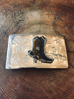 Boot Up Belt Buckle