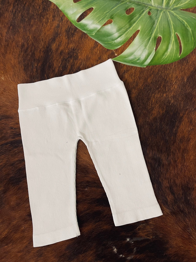 White Snake Bike Shorts