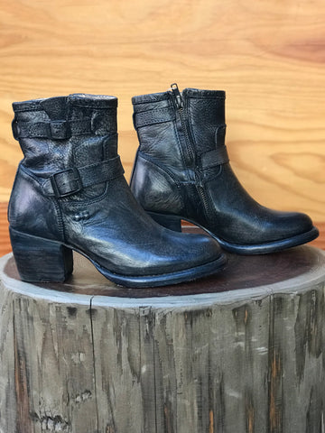 Babe's Gunmetal Ankle Boots Size 6.5