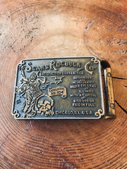 Sears Roebuck & Co. Belt Buckle