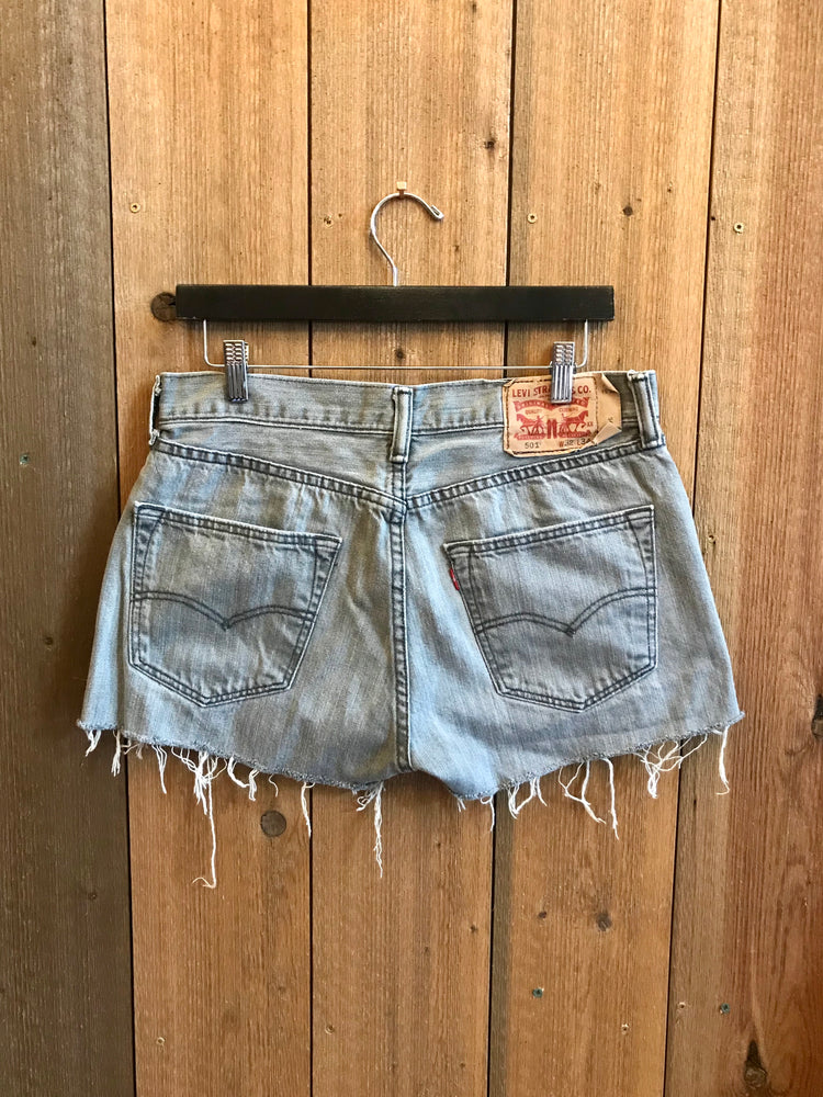 Vintage Denim Shorts Waist Sz 32""
