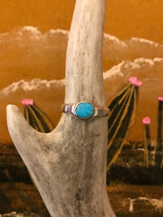 Sterling Silver and Turquoise Encino Ring