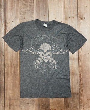 Load image into Gallery viewer, Lynyrd Skynyrd Biker Skull Tee