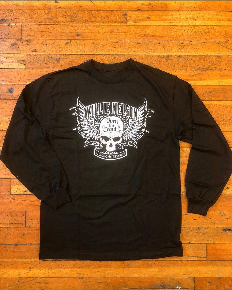 Willie Nelson Born For Trouble Long Sleeve