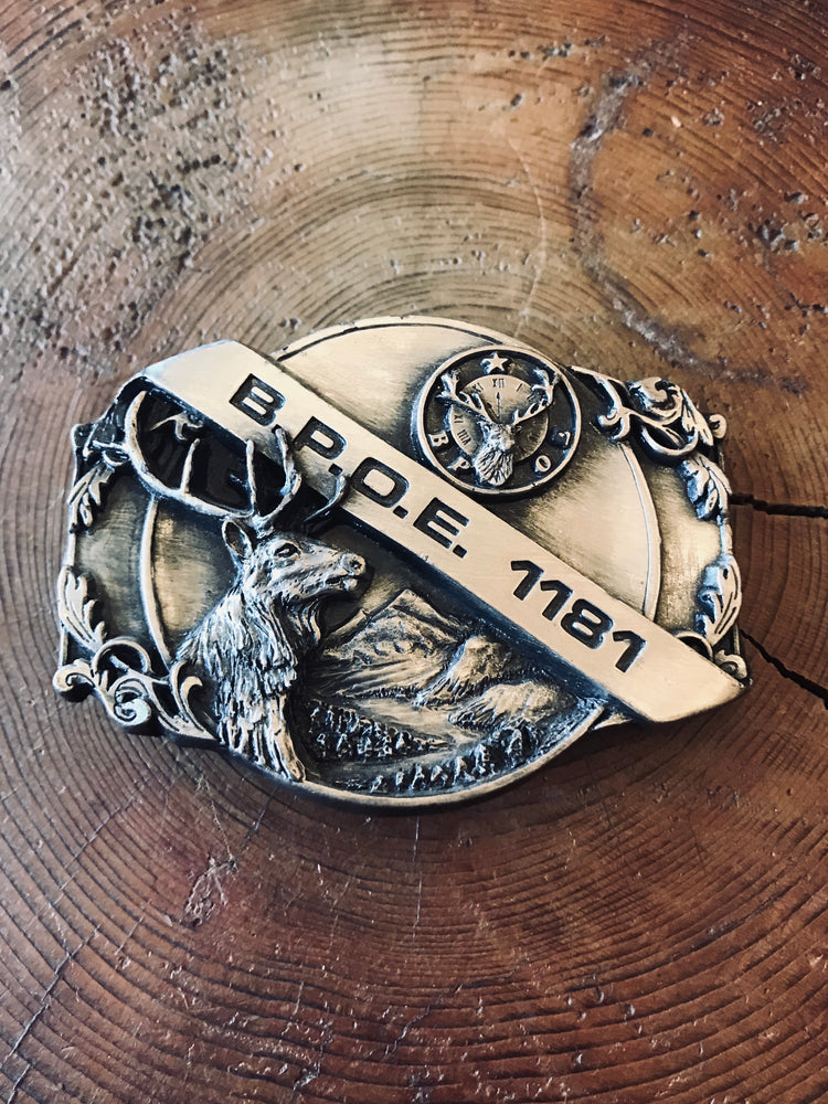 Load image into Gallery viewer, B.P.O.E. 1181 Belt Buckle