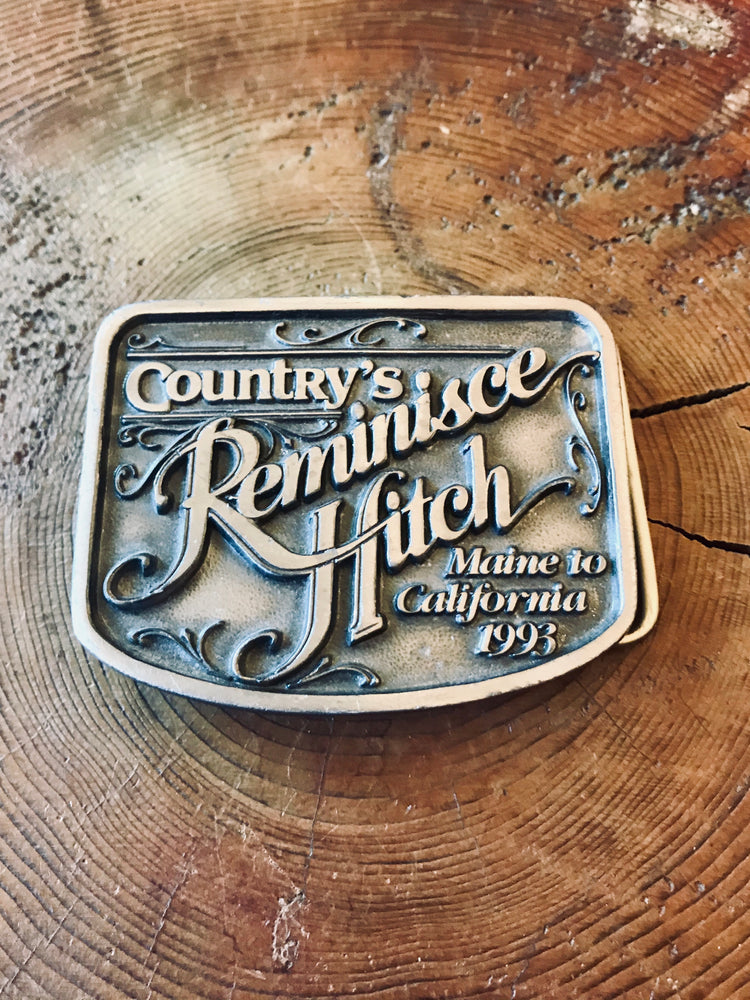 Reminisce Hitch Belt Buckle