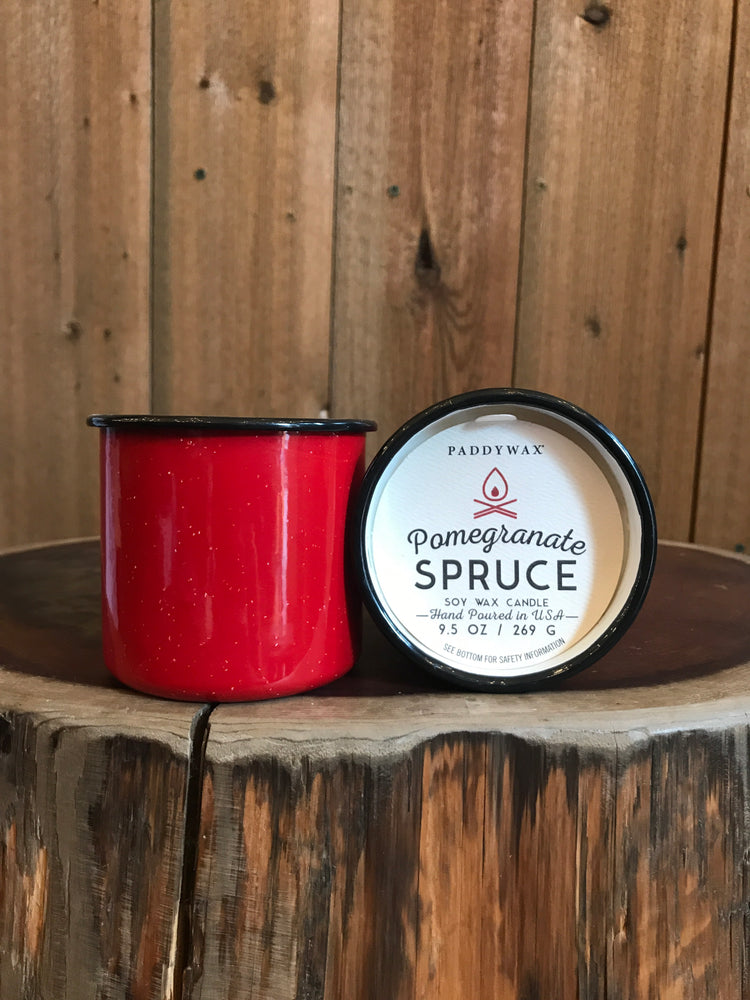 Alpine- Pomegranate Spruce Candle