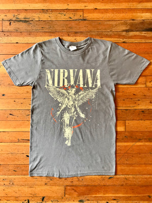 Load image into Gallery viewer, Nirvana Galaxy In Utero Tee