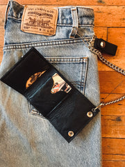 Keep on Truckin' Trifold Chain Wallet