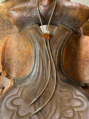 Load image into Gallery viewer, Vintage Jasper Bolo Tie