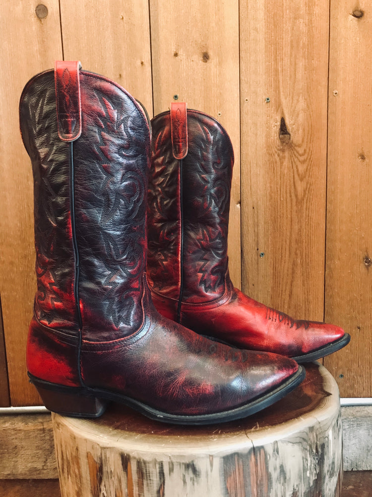 Load image into Gallery viewer, J. Chisholm Cowboy Boots M Sz 12