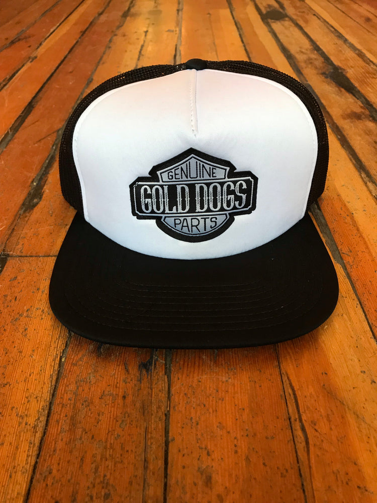 Gold Dogs Genuine Parts Trucker Hat