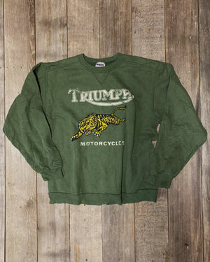 Load image into Gallery viewer, Vintage Triumph Sweatshirt Sz M
