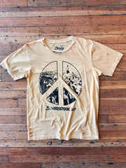 Woodstock Peace Sign Tee