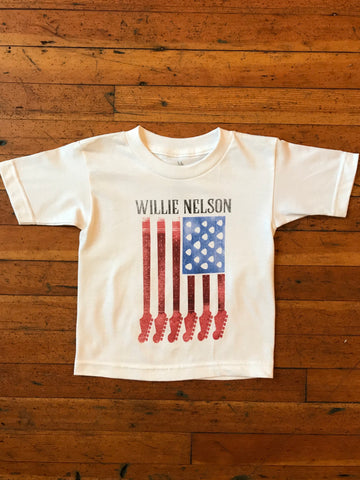 Kid's Willie Nelson Flag Tee