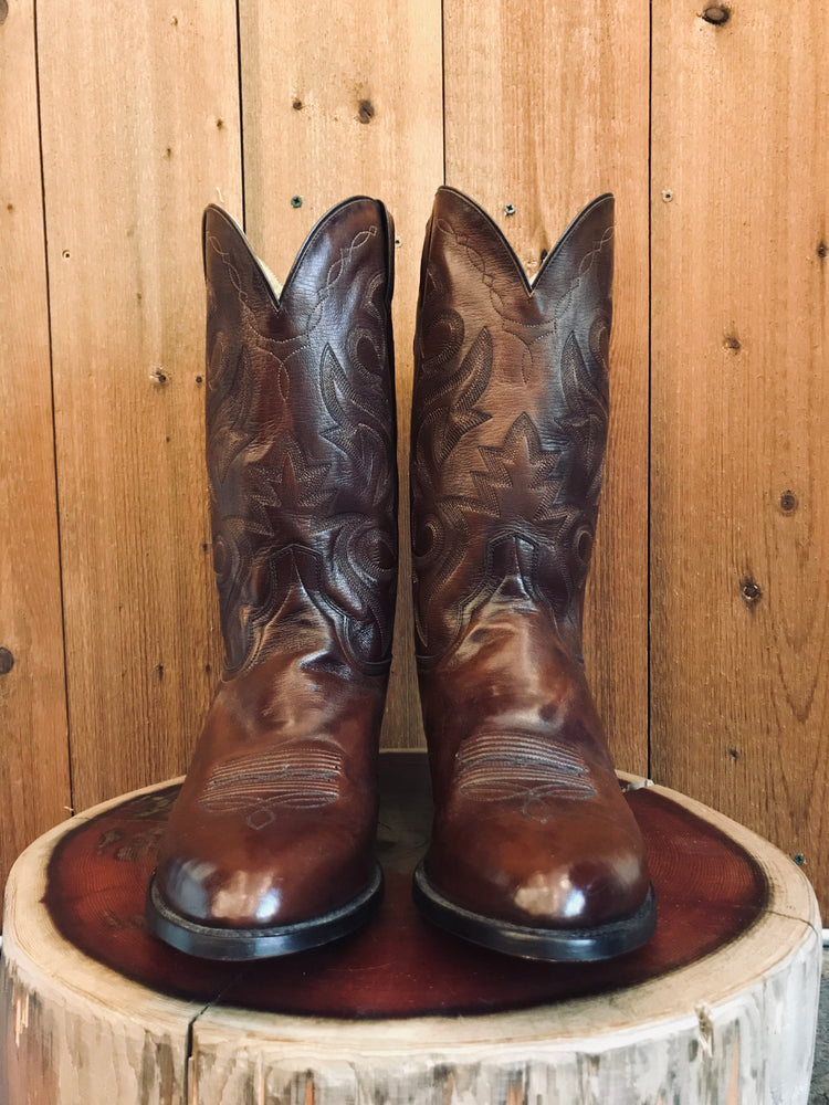 Load image into Gallery viewer, Dan Post Cowboy Boots M Sz 15