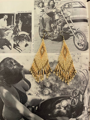 Sienna Fringe Seed Earrings