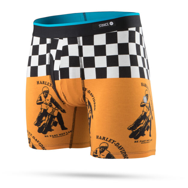 Harley Davidson Fast Not Last Boxer Brief
