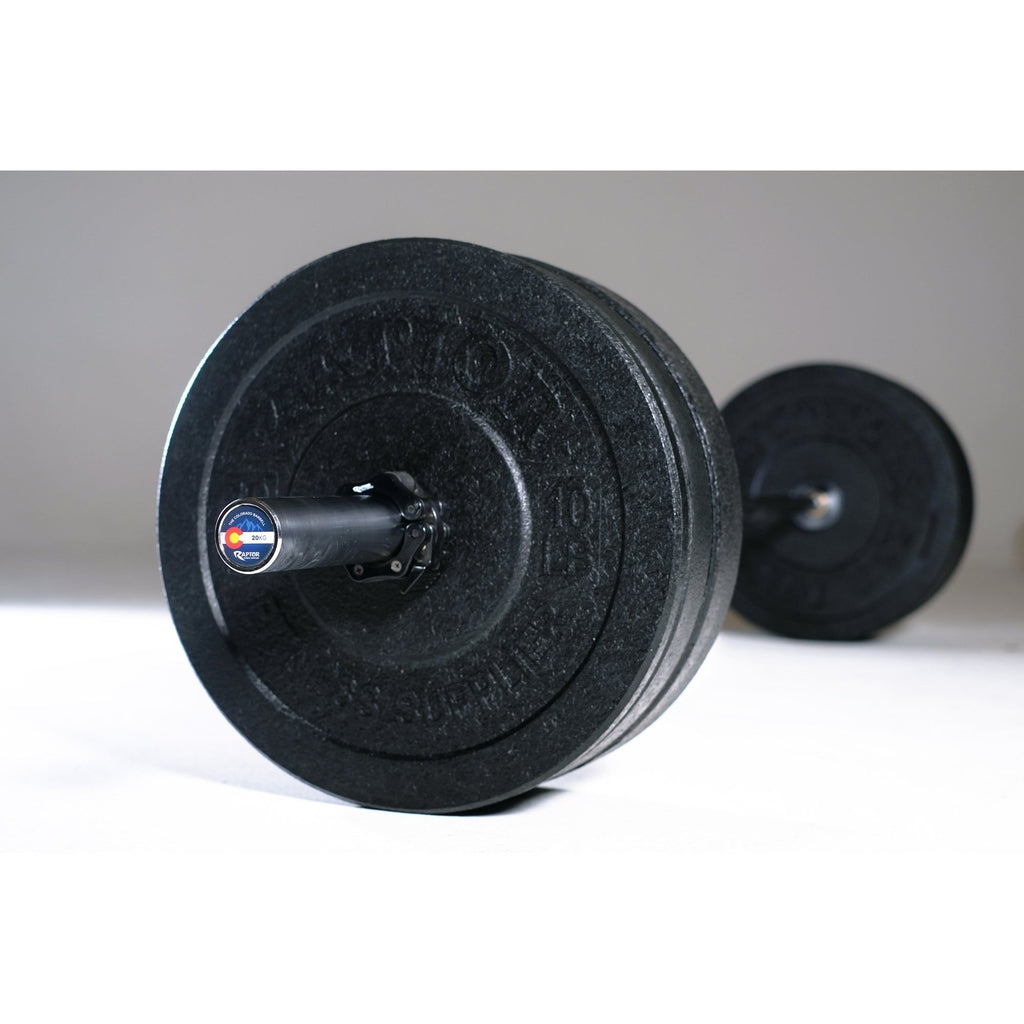Colorado Barbell, 160 Lbs of bumpers and clips all SHIPS FREE