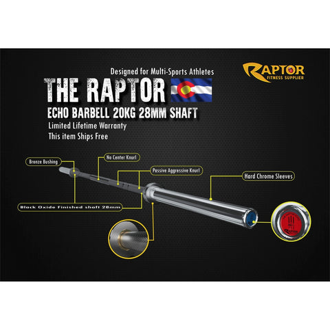 Image of The Raptor Echo Barbell
