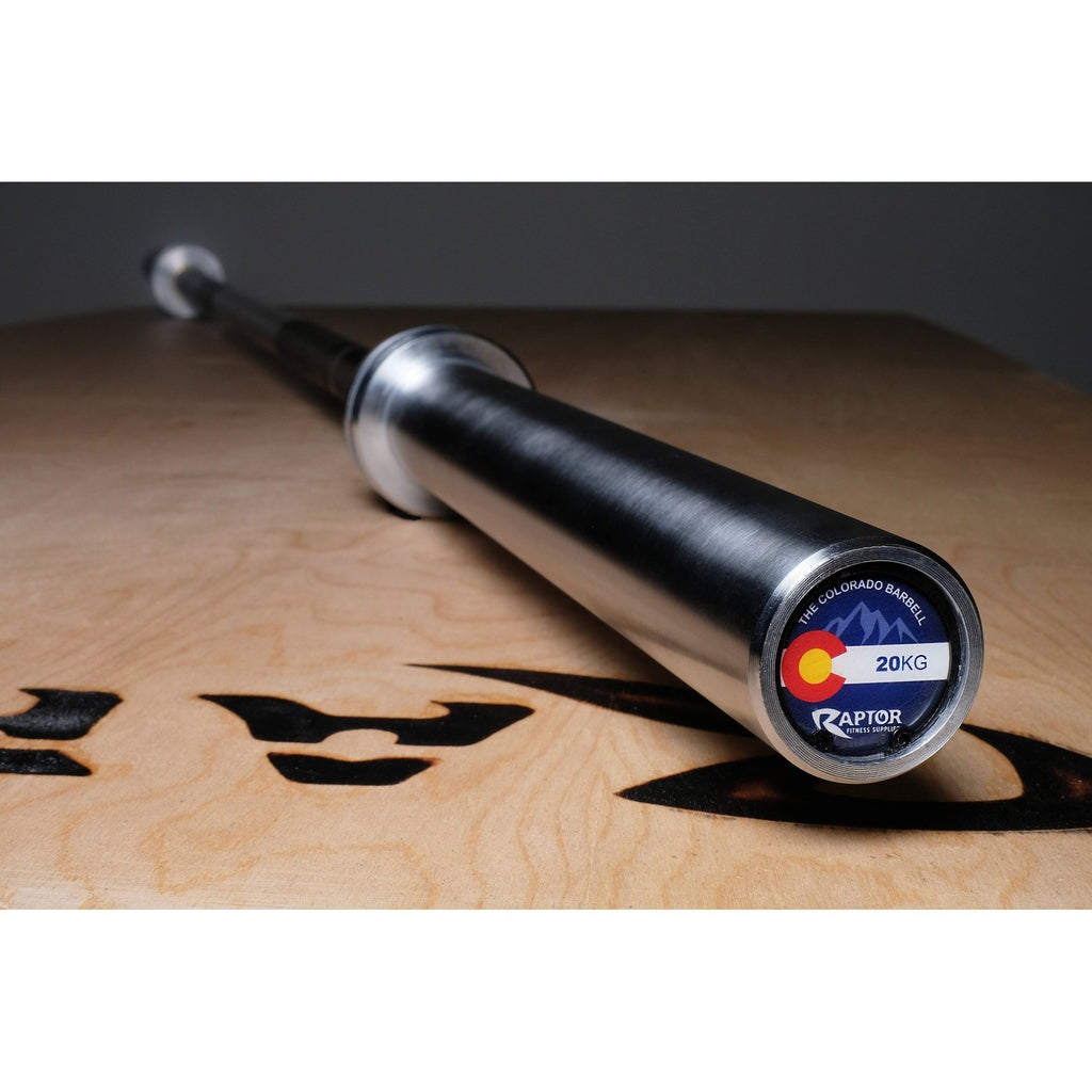 The Colorado Barbell Hard Chrome 20 Kg