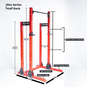 Rex Series Fully Loaded Half Rack