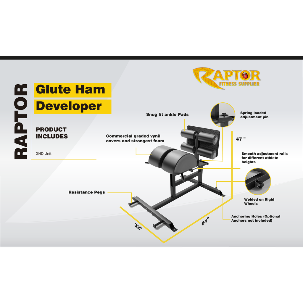 Raptor Glute Ham Developer (Craft)