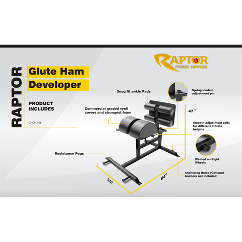 GHD Raptor Glute Ham Developer